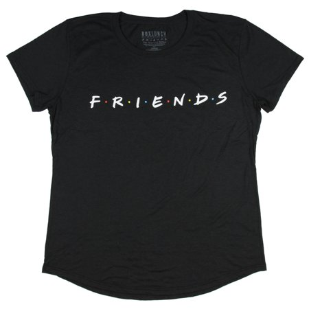 Officially Licensed Junior Shirts (Friends TV Series Logo Officially Licensed Juniors T-Shirt )