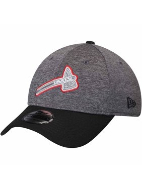 Product Image Atlanta Braves New Era 39THIRTY Shadow Tech Color Pop Flex Hat  - Heathered Gray Black 18a2cfc6e39