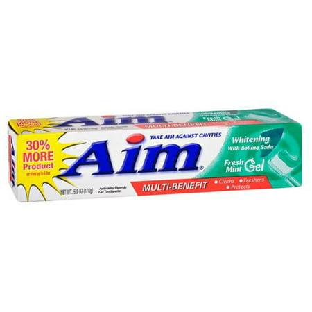 AIM Dentifrice blanchissant Gel