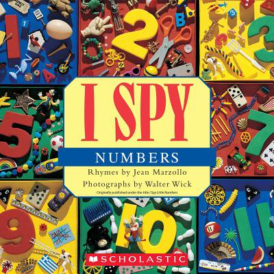 I Spy Numbers (Paperback) - Halloween I Spy Printables