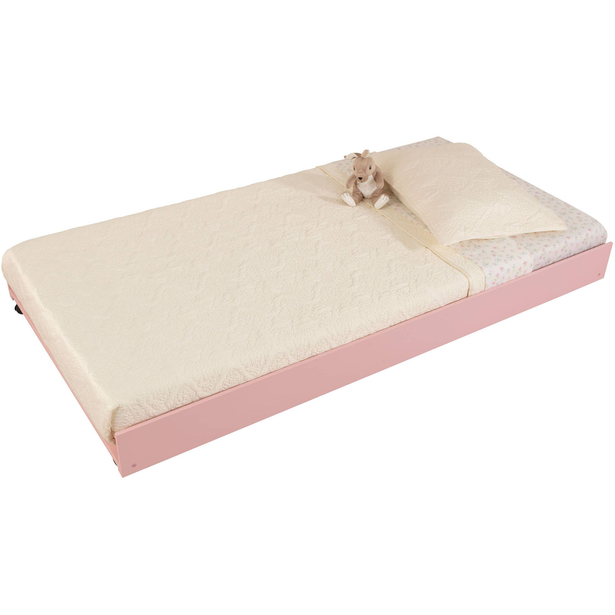 KidKraft Twin Trundle Bed, Pink by KidKraft