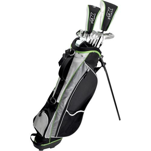 TiTech X-GenII Men's Complete Golf Set w/Stand Bag (RH)