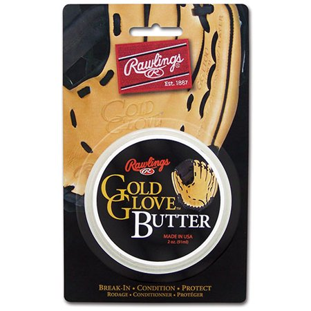 Rawlings Gold Glove Butter Baseball Glove Conditioner Baseball Glove Conditioning Oil
