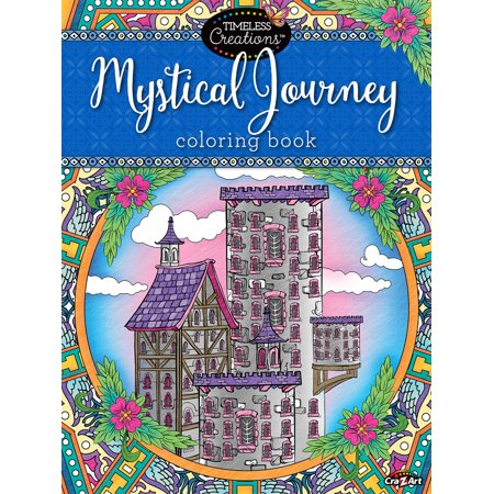 Cra-Z-Art Timeless Creations MYSTICAL JOURNEY COLORING BOOK ...