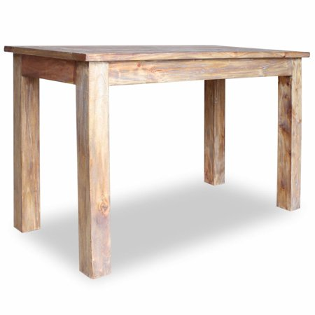 Dining Table Solid Reclaimed Wood (Making A Dining Table From Reclaimed Wood)