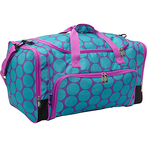 Big Dot Aqua Weekender Duffel Bag