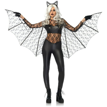 Bat Magic - Leg Avenue Adult Black Magic Bat 2-Piece Costume