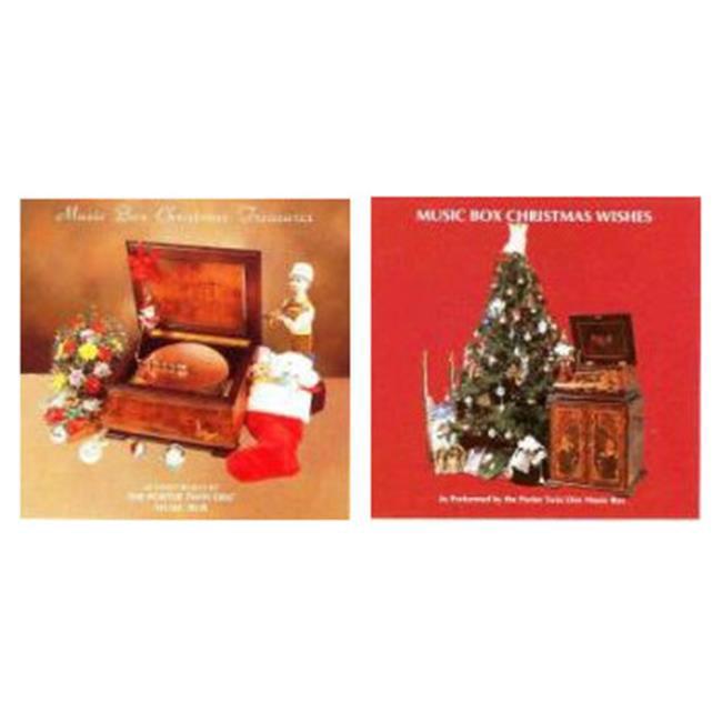 Porter Music Box 27-64 Christmas Treasures, Wishes Music CD, Set of 2 - image 1 de 1