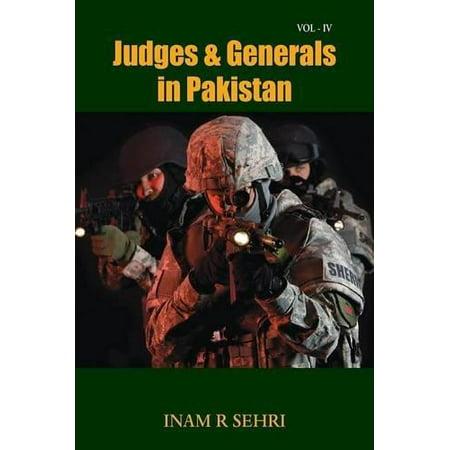 Judges   Generals In Pakistan   Volume Iv