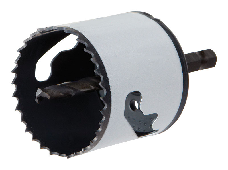 Hole Saw 2-1//8-Inch Speed Slot Arbored Bi-Metal