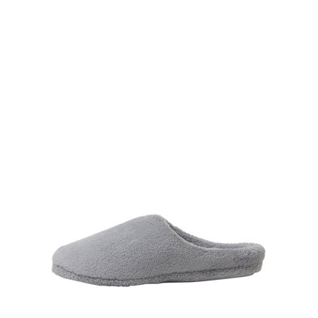 DF by Dearfoams Womens Terry Clog with Velour Sock Slipper