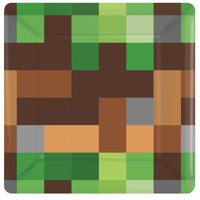 "7"" Plate Minecraft TNT PARTY!"