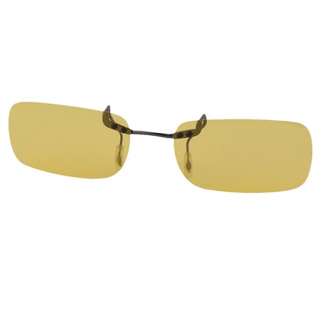 abaf50a9b3fb Unisex Sport Driving Rimless Lens Clip On Polarized Sunglasses Glasses  Eyewear - www.lesbauxdeprovence.