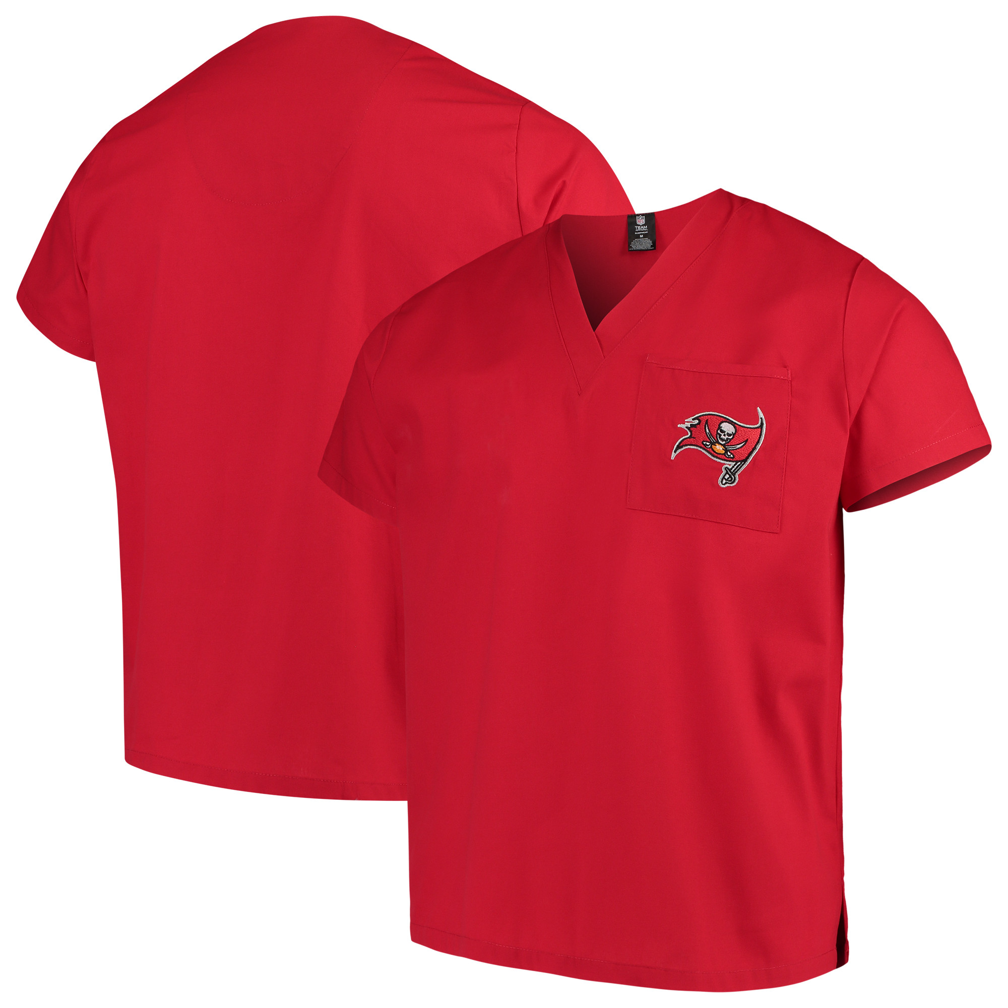 Tampa Bay Buccaneers Concepts Sport Scrub Top - Red
