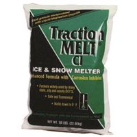 Traction Melt Ci Magnesium Chloride Ice Melt, 50 Lb. Bag