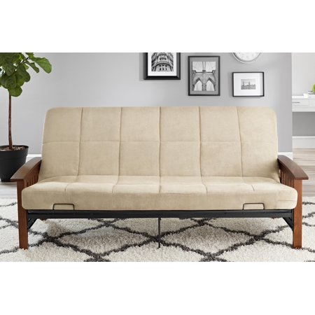 Better Homes Gardens Mission Wood Arm Futon Multiple Colors