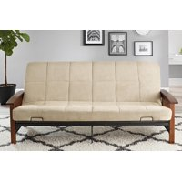Product Image Better Homes Gardens Mission Wood Arm Futon Multiple Colors