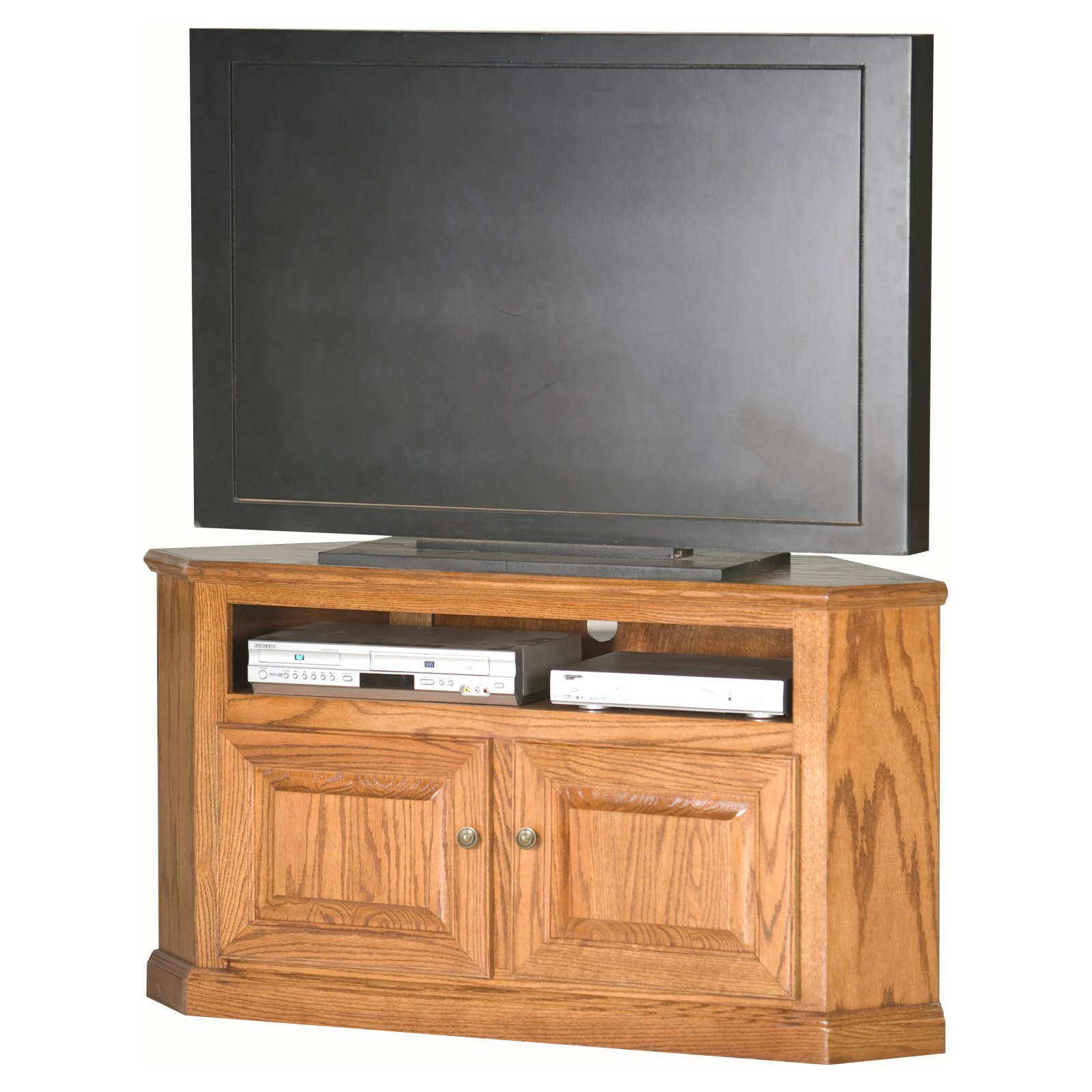 Eagle Furniture Classic Oak Customizable 50 in. Corner TV Stand