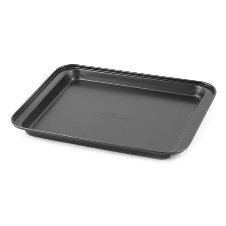 (Home Bakeware Metal Rectangle Bread DIY Baking Mold Pan Tray Dish Black)