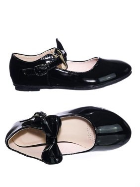 a3f8cb9d98 Product Image Gloria64K by Forever Link, Children Girls Mary Jane Round Toe  Ballet Bellarina Flat w Bow
