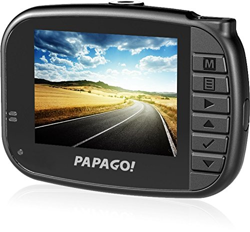 PAPAGO GS272-US GoSafe 272 Ultra Slim Full HD 1080P Dashcam - Replacement for GoSafe 330 (Black)