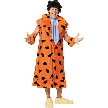 Fred Flintstone Adult Halloween - Flintstone Costumes For Adults