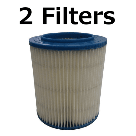 2 Filter for Craftsman 17907 Wet Dry Vac Red Stripe Fine Dust Ridgid