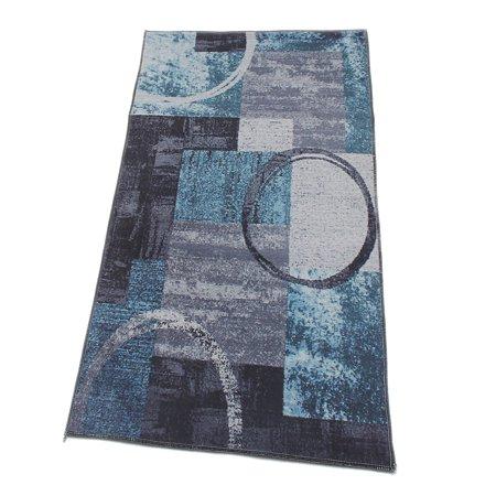 Modern Area Rugs Soft Floor Carpet Mat Abstract Anti-skid Velvet Rug or Runner For Living Room Bedroom Dining Room Multi-size - image 5 de 5