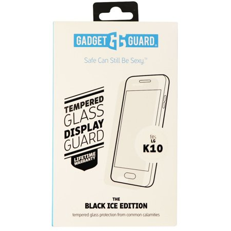 Gadget Guard Black Ice Tempered Glass Screen Protector for LG K10 - Clear