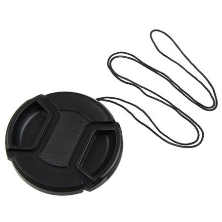 Insten 2X 58mm Center pinch Snap-on Front cap for Canon lens ()