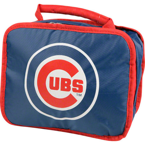 Chicago Cubs Official MLB 9 inch x 7 inch x 5 inch  Insulated Lunch Box Lunchbox Bag by Concept One