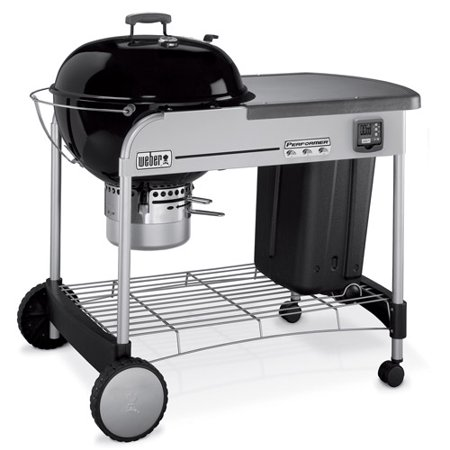 weber 22 5 performer gld charcoal grill. Black Bedroom Furniture Sets. Home Design Ideas