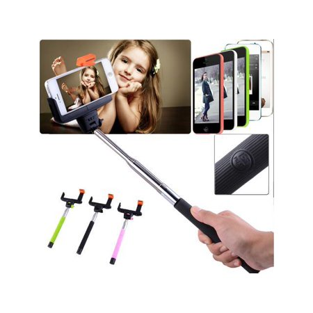 wireless bluetooth shutter extendable handheld selfie stick monopod holder fo. Black Bedroom Furniture Sets. Home Design Ideas