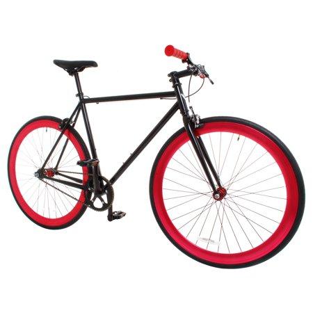 b080b87099c0d Vilano Rampage Fixed Gear Bike Fixie Road Bike - Walmart.com
