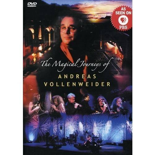 The Magical Journeys Of Andreas Vollenweider (Music DVD) (Amaray Case)