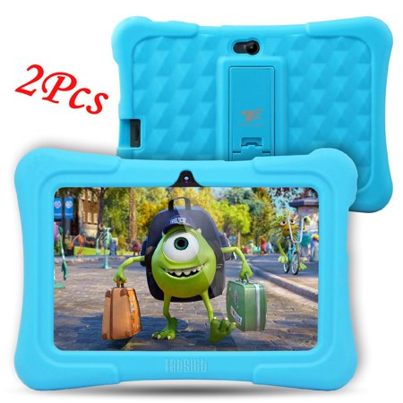 2Pcs DragonTouch Blue Newest Y88X Plus 7 inch Kids Tablet Quad Core Android 6.0 Tablet With Children Apps 1GB / 8GB Kidoz Pre-Installed Best gifts for (Best Meme Generator App Android)