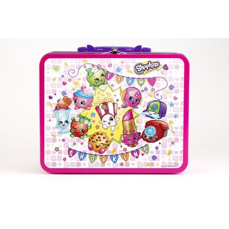 Shopkins 100 piece puzzle assortment in lunchbox tin for Decor 6 piece lunchbox