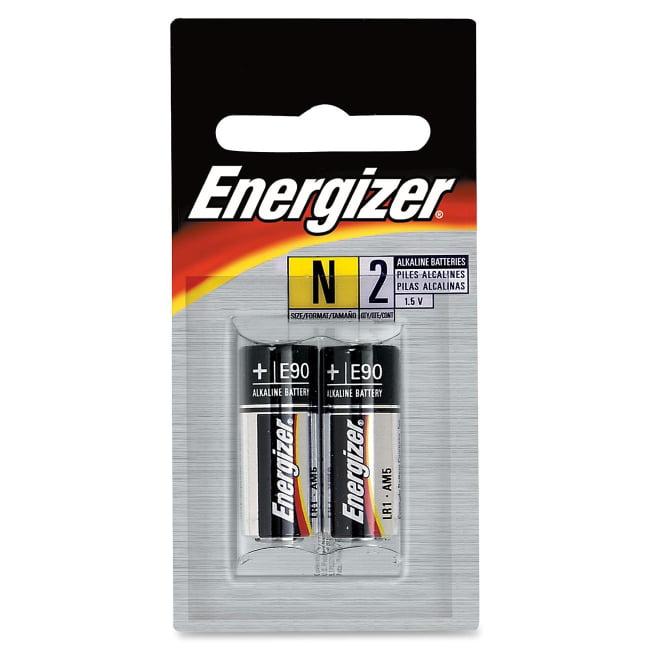 Energizer 1.5V Alkaline N Cell Battery, 2pk