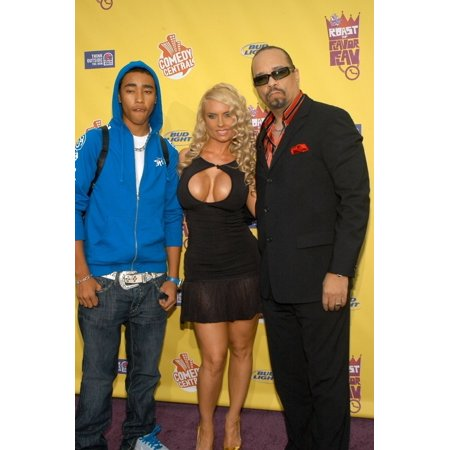 Tracy Marrow Jr  Nicole 'Coco' Austin  Ice-T At Arrivals For Flava Flav Roast By Comedy Central  The Warner Brothers - Coco Austin Halloween