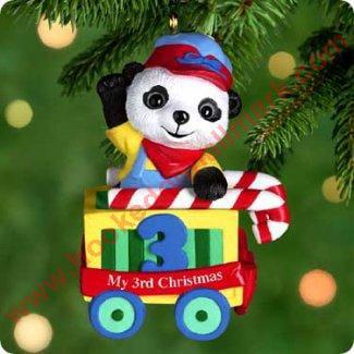 Hallmark Ornament 2000 Childs Third Christmas ()