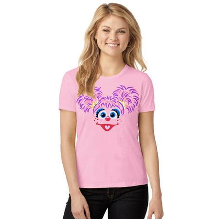 Sesame Street Abby Cadabby Junior Ladies T-Shirt