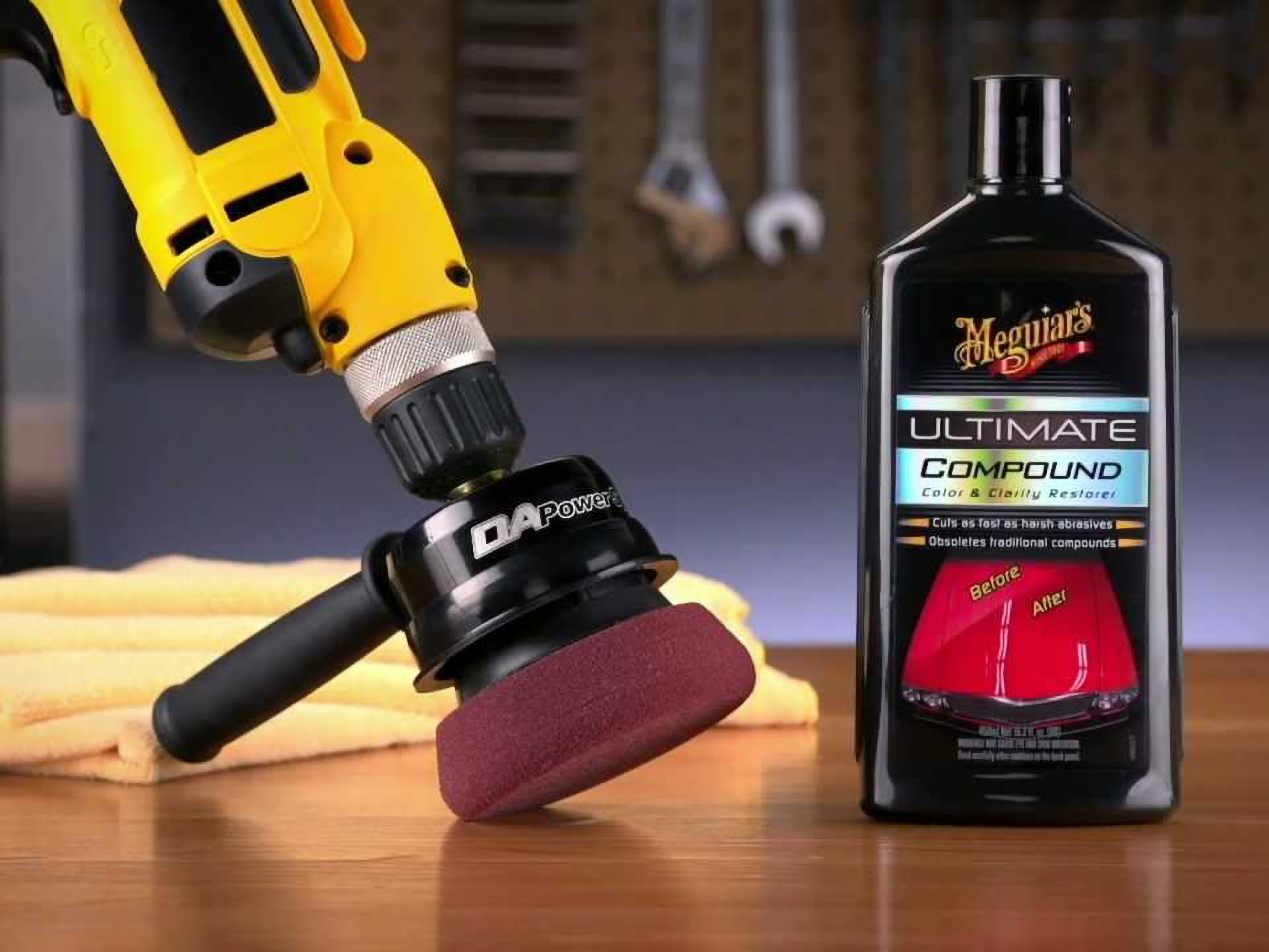 Meguiar's G3500 Dual Action Power System Tool – Boost Your