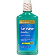 Good Sense Anti-Plaque Dental Rinse Mint, 16 oz - Case of 12
