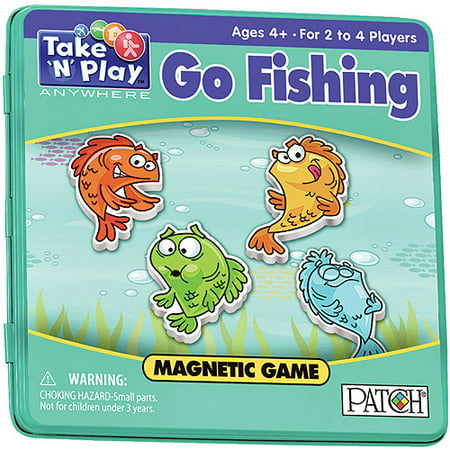 Halloween Games To Play At Home (Go Fishing - Take 'N' Play Anywhere)