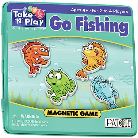 Go Fishing - Take 'N' Play Anywhere Game - Spooky Games To Play On Halloween
