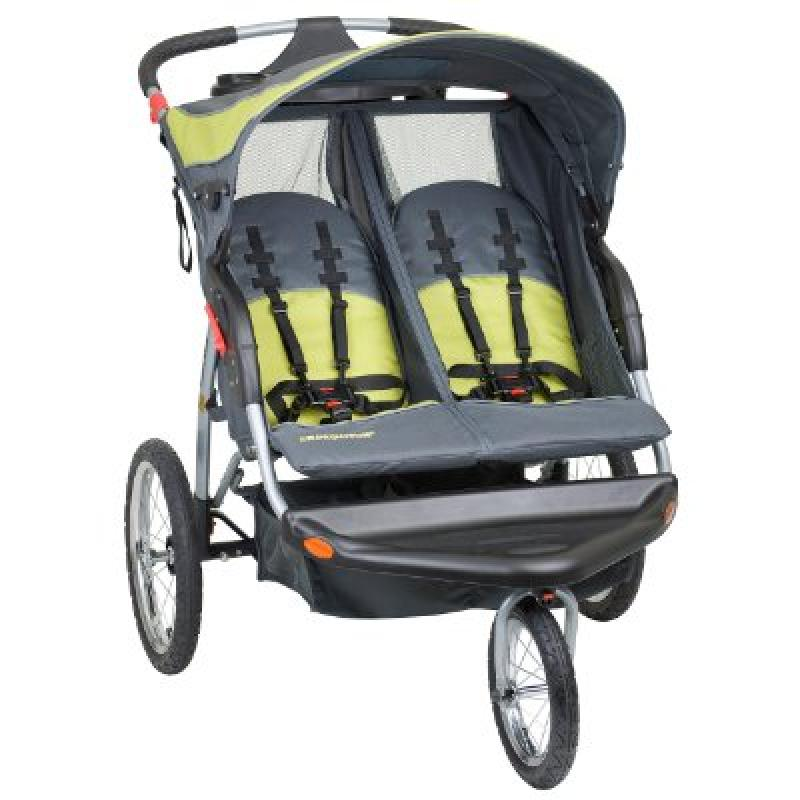 Baby Trend Expedition Double Jogger Stroller, Carbon by Baby Trend