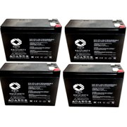 SPS Brand 12V 10Ah Replacement Battery for SLA Casil CA12100 (4 Pack)