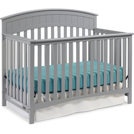 Graco Charleston 4 In 1 Convertible Crib Pebble Gray
