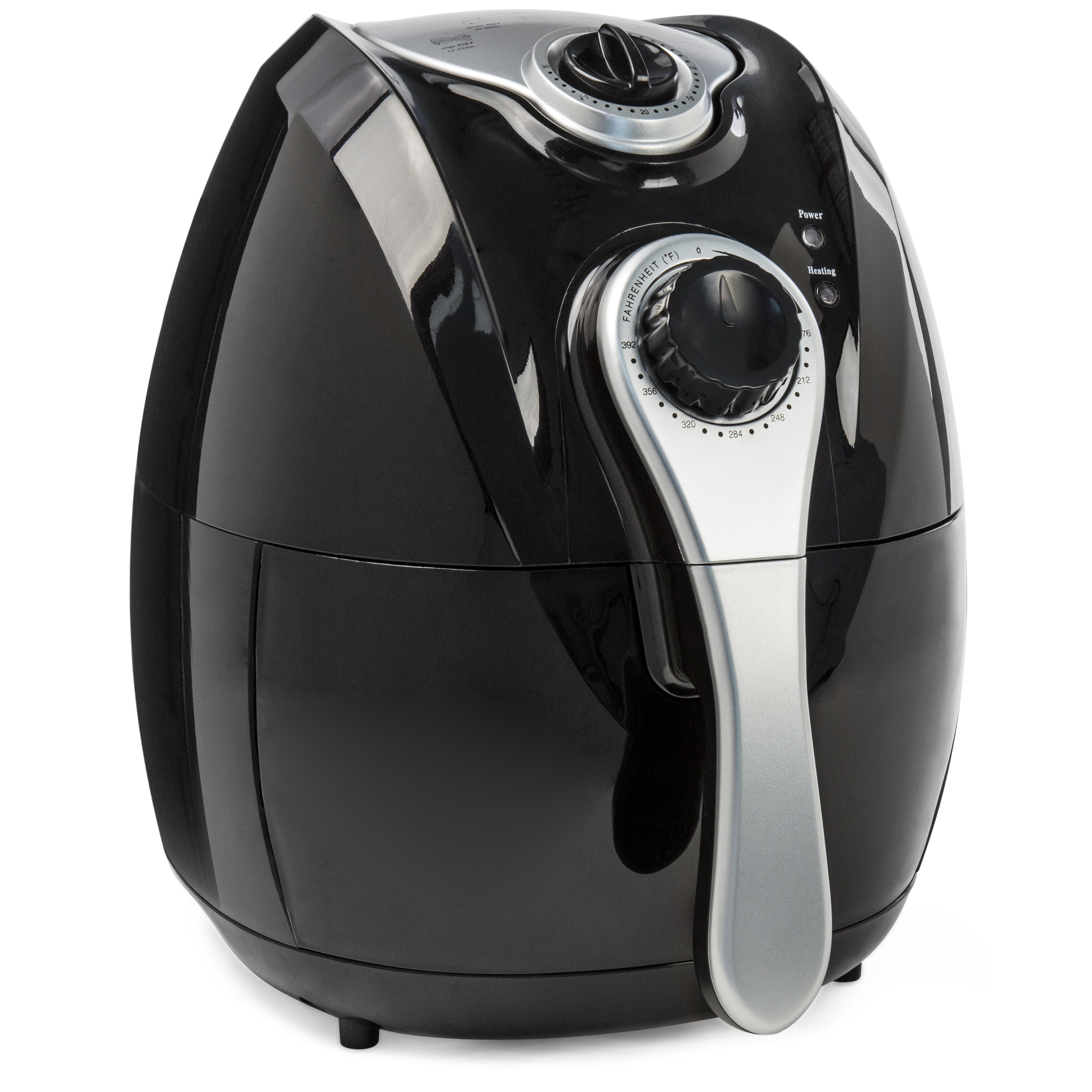 Best Choice Products 4.4 Qt Electric Air Fryer  w/ Rapid Air Circulation, Temp. Control, Timer, Detachable Handles
