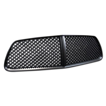 Rl Concepts Euro Black Vip Mesh Front Hood Bumper Grill Grille Cover Abs 11 14 Dodge Charger